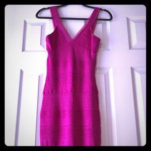Dress Bebe XS hot pink